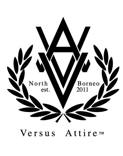 logo design versus attire on behance