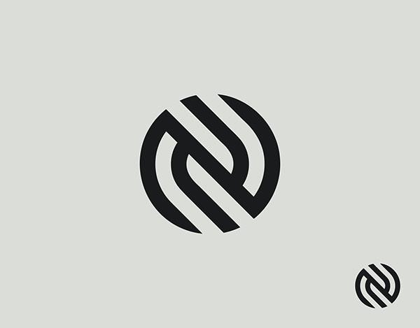 NN Monogram   Initial letter logo