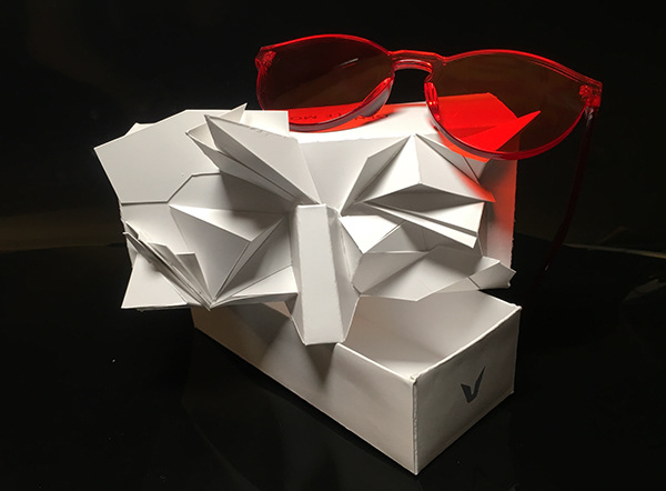 Gentle Monster Origami Packaging On Fit Portfolios