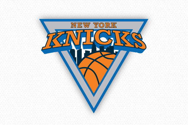 new york knicks rebranding on pantone canvas gallery rh canvas pantone com New York Knicks Logo Knicks Logo History