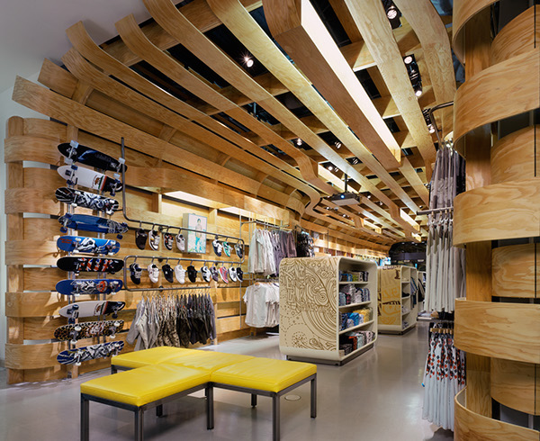 Quiksilver Young Men's Interior Store Design by Clive Wilkinson  0df6c885c097d88a98489c5cc5de2474