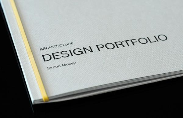Portfolio Design For Award Winning Architect Simon Moxey Of Forum