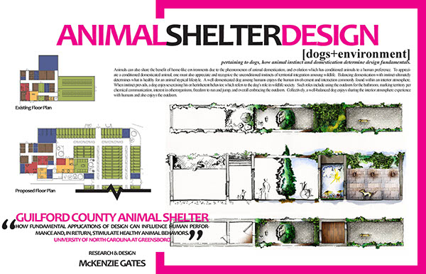 THESIS: Guilford County Animal Shelter on Behance