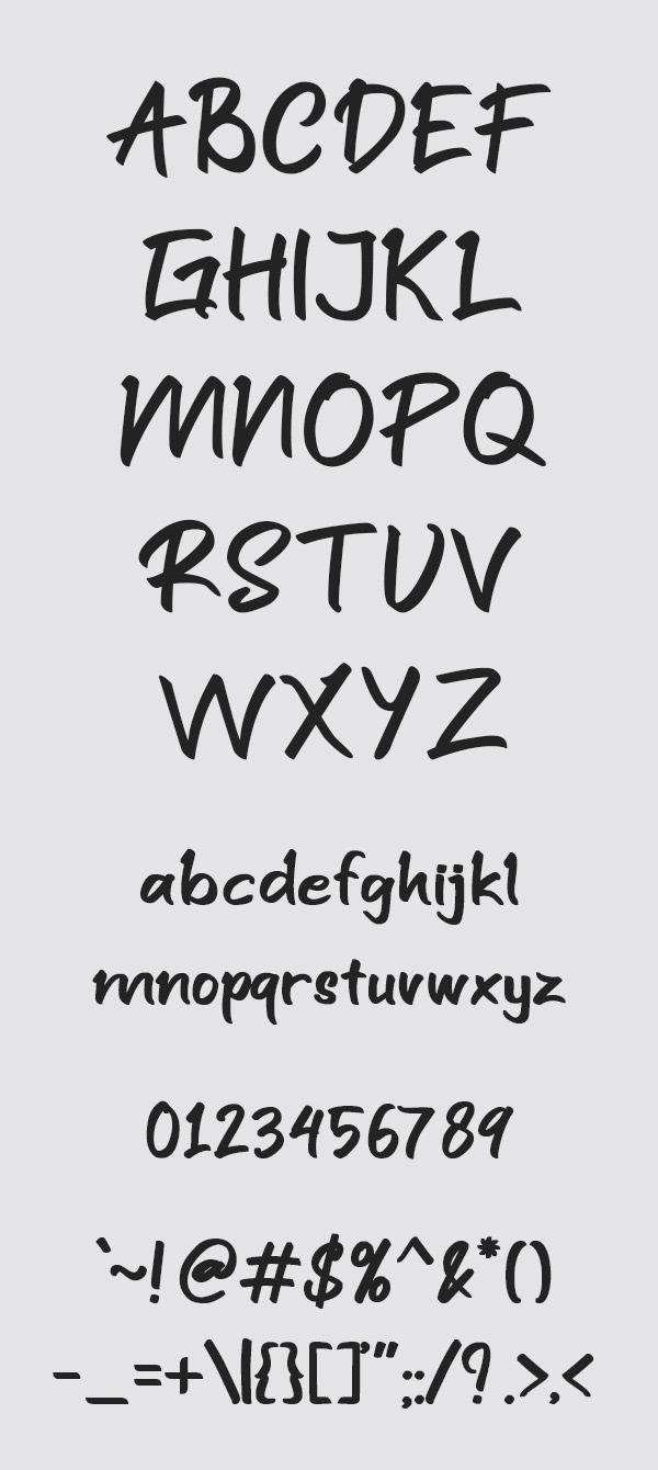 Font Freebie Free font freebie handwritten fonts lettering Script Font
