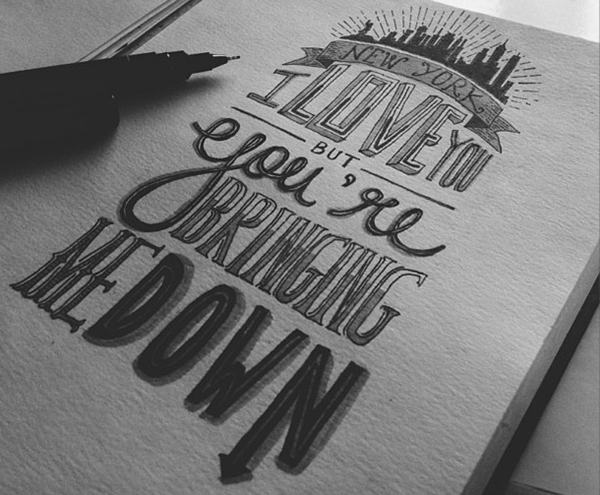 Hand Lettering Vol 1 On Behance