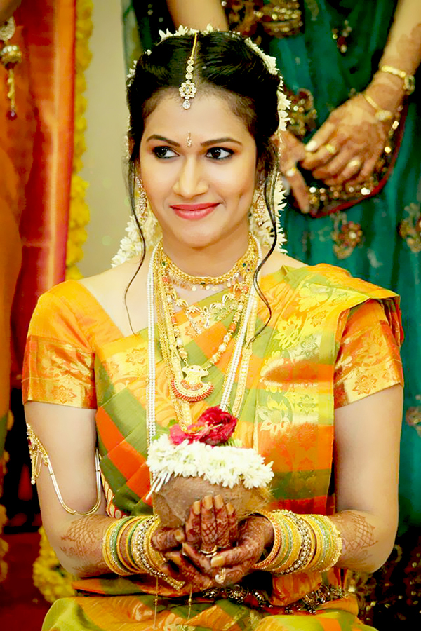 beautiful south indian bride on behance