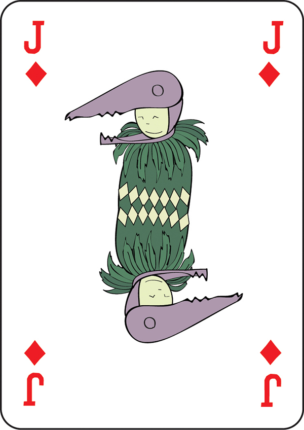vector vector drawing vector graphic computer grapohic Illustrator Playing Cards alicja wieczorek design