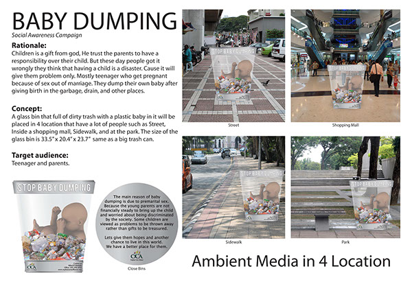 causes and ways to overcome baby dumping Illegal dumping - fly dump-ing of bags of trash, old mattresses or appliances  same way as serious traffic and conservation violations are handled the prosecu.