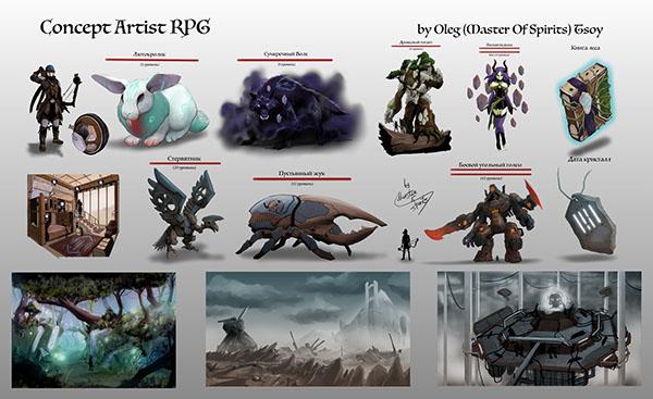 Character Design Challenge Concept : Concept artist rpg challenge on pantone canvas gallery
