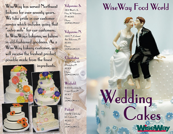 wedding cake brochure wedding cake brochure on behance 22103