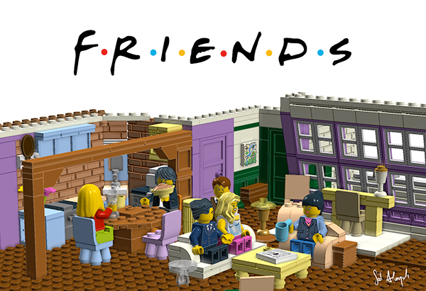 Lego Ideas Friends Monica And Rachel 39 S Apartment On