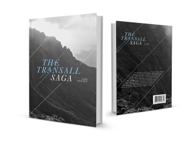 university of kansas KU the transall saga book cover book jacket book redesign tribal post-apoctolyptic Gary Paulsen survival book redesign adapt Adaptation