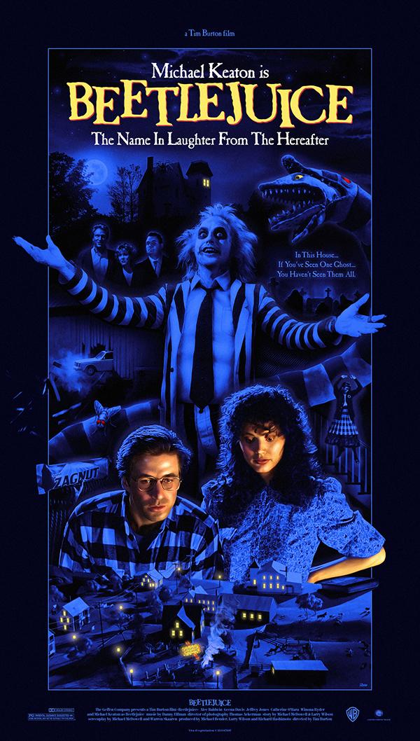 """Beetlejuice"" movie poster on Behance"