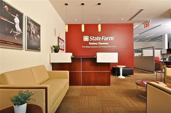 Insurance and financial service office on risd portfolios for Interior design travel agency office