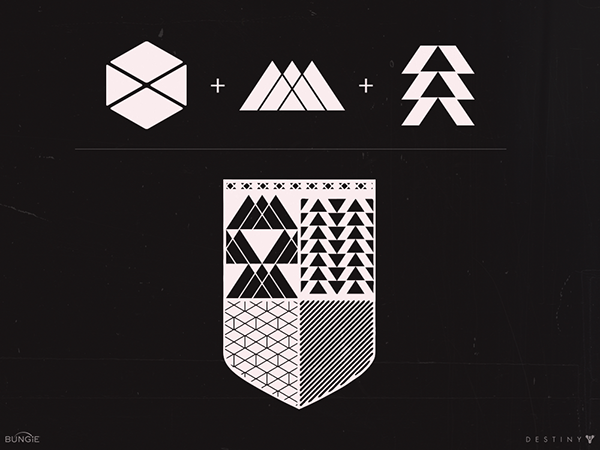 Destiny iconography 2d art on behance gumiabroncs Gallery