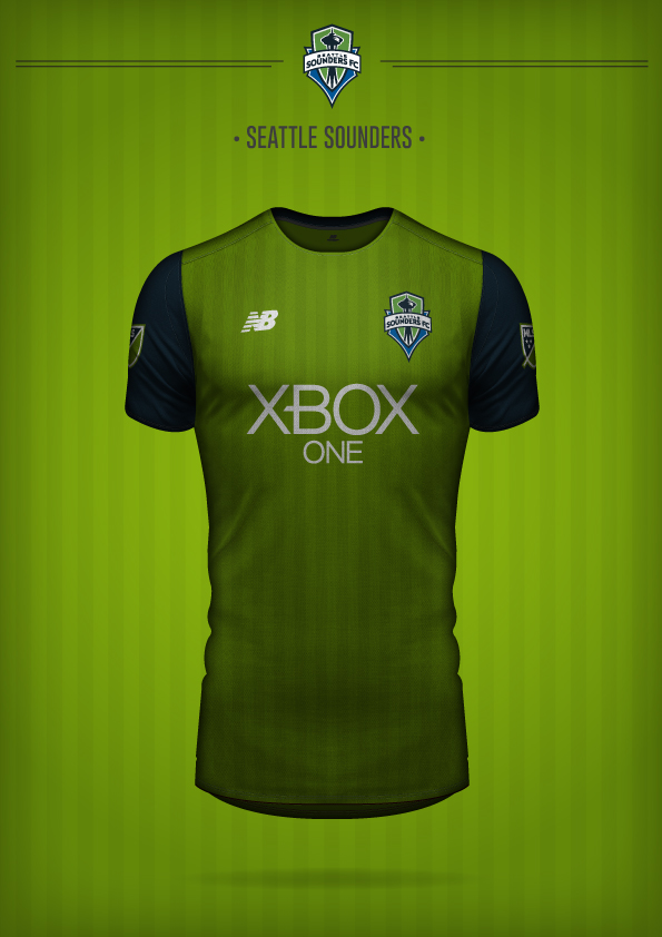 New Balance Seattle Sounders Concept Kit