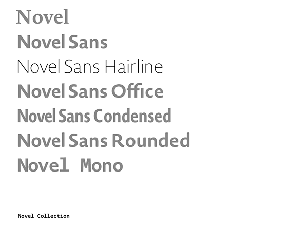 Typeface font type design Atlasfonts Atlas Font Foundry sans serif hairline