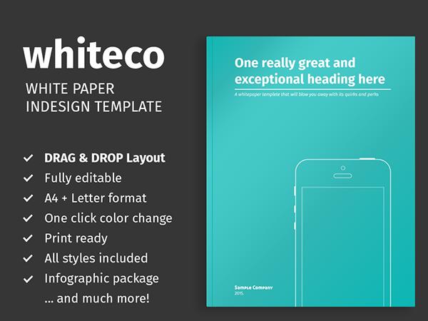 White Paper Design Templates White Paper Template For
