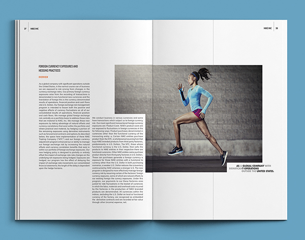 nike annual report project 5 public companies with fantastic digital annual reports  5 public companies with fantastic digital annual  nike's 2015 annual report can still only be.