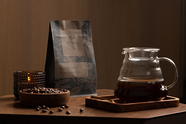 Beany branding and packaging