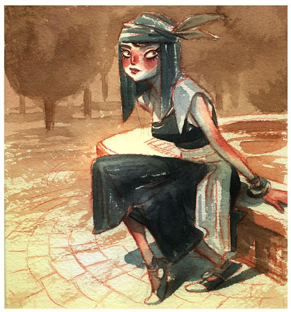 ILLUSTRATION  watercolor