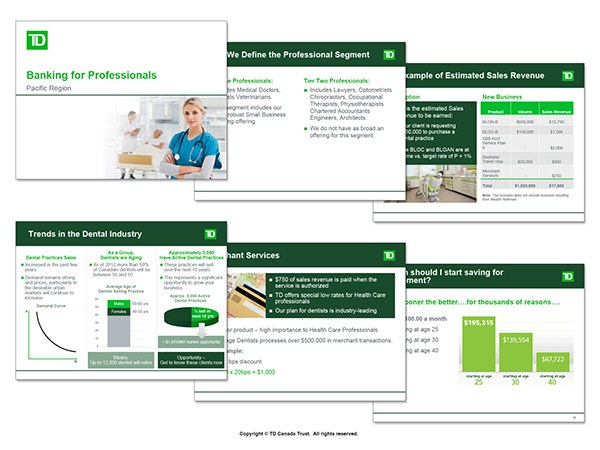 td bank on behance
