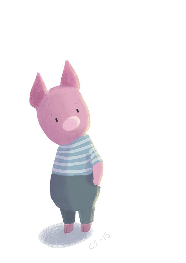 digital,animal,pig,kids