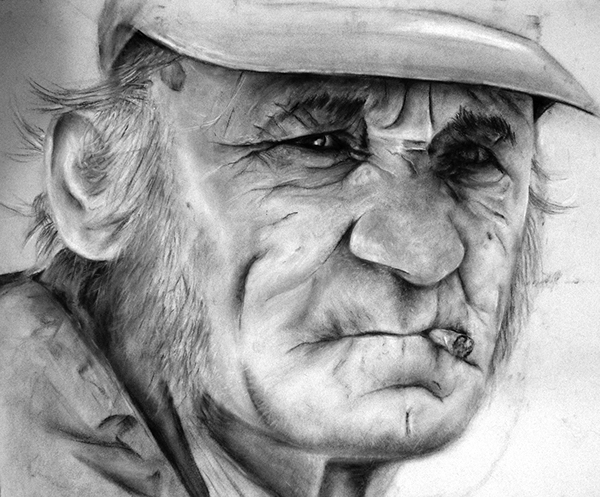 old dude drawings on Behance