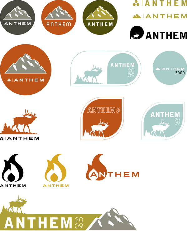 Anthem Branding 2009 On Behance