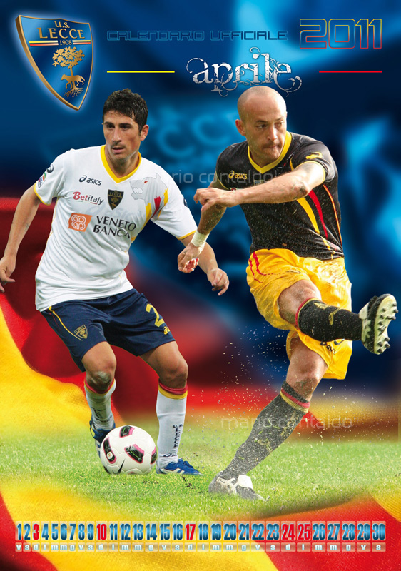 calendario U.S. Lecce Serie A campionato football calendar salento Salento12
