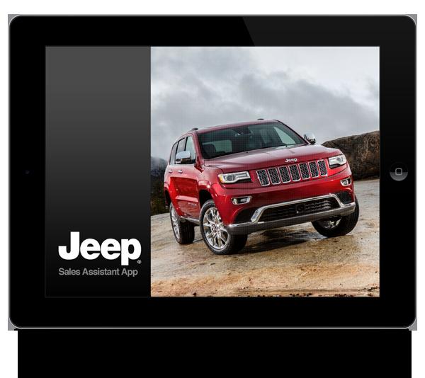 Virtual Car Customizer >> Jeep Sales App on Pantone Canvas Gallery
