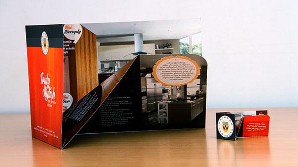 Uniwood an unique 3d product brochure on behance for 3d brochure design