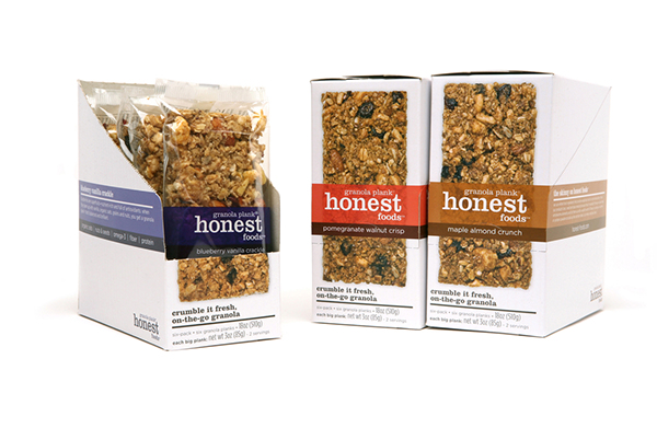 Honest foods on behance for Food bar packaging