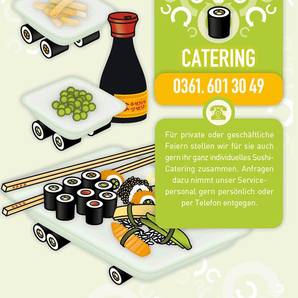 Koko Sushi Lieferkarte Flyer 2009 On Behance