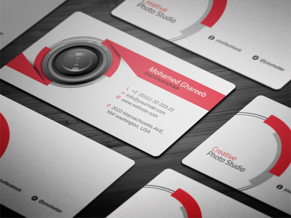 Creative photography business cards gidiyedformapolitica creative photography business cards cheaphphosting Image collections