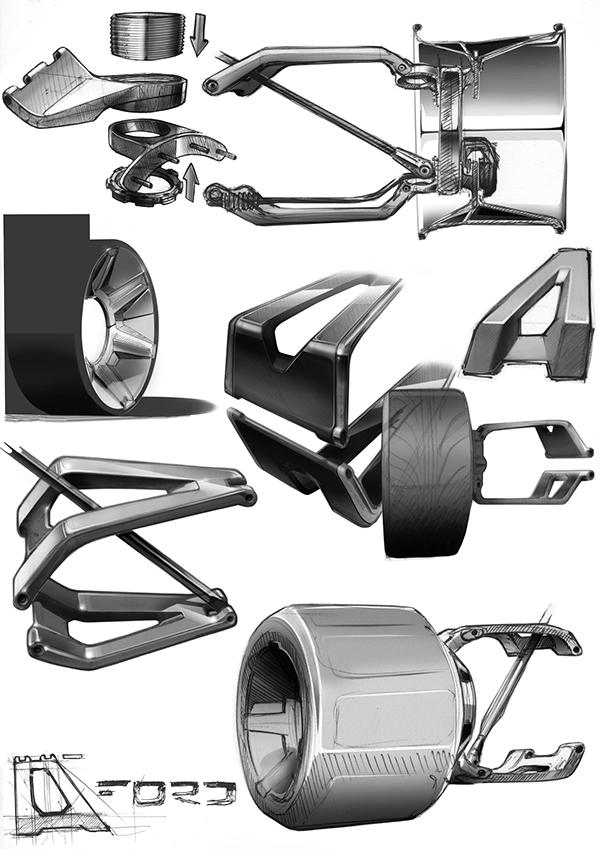 hot rod rat rod concept car future car Custom Car Super Car lamborghini retro car retro design