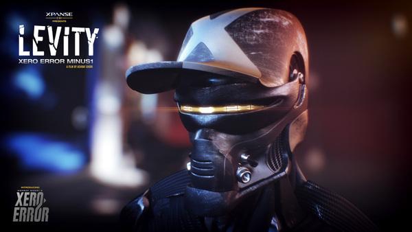 Film   animation  xe7 xpanse CGI ashraf ghori dubai levity Xero Error movie short CG vfx motion graphics  art Cyborg future dark future time travel