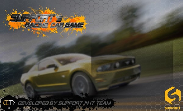 Supports Racing Game On Behance