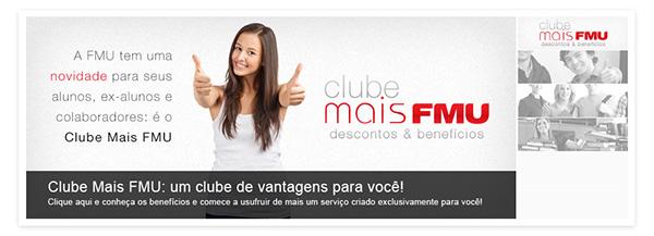 FMU  university  club clube de vantagens