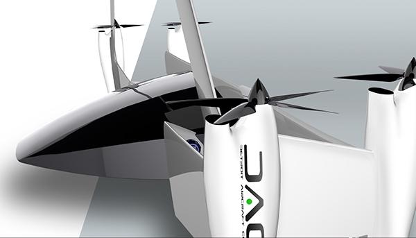 VTOL Aircraft design for DAC on Behance