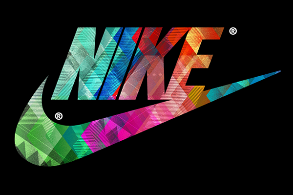 Gold nike logo wallpaper
