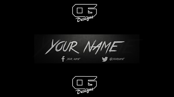 youtube hipster banner template on behance