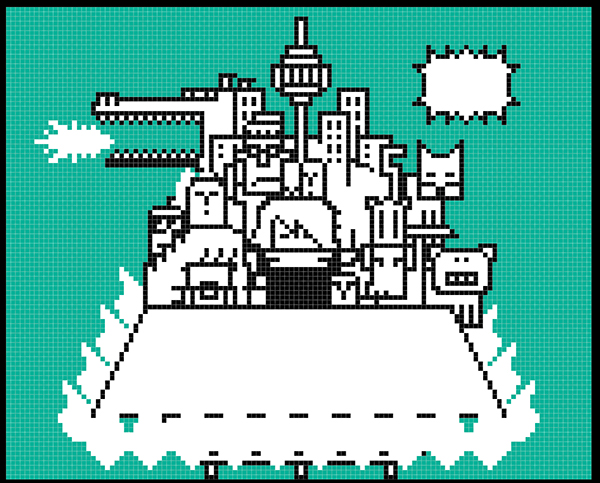 Pixel Art Design : Pixel art design a poster on behance