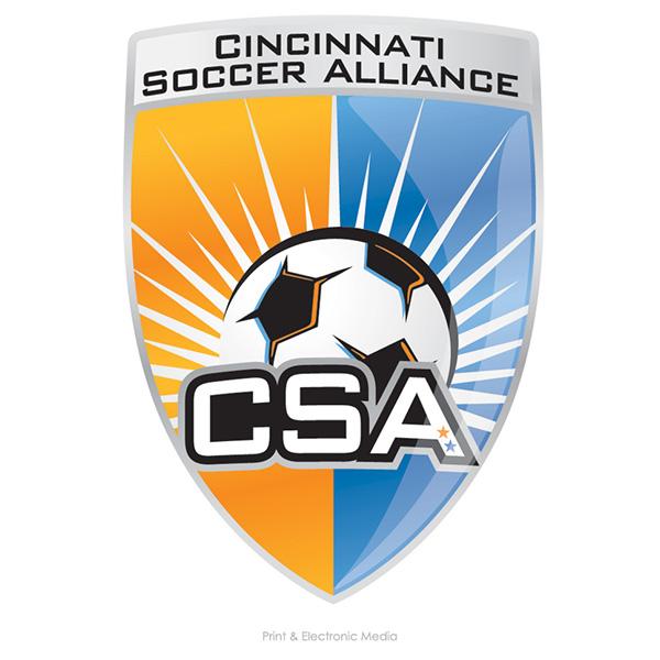 Cincinnati Soccer Alliance Logo On Behance