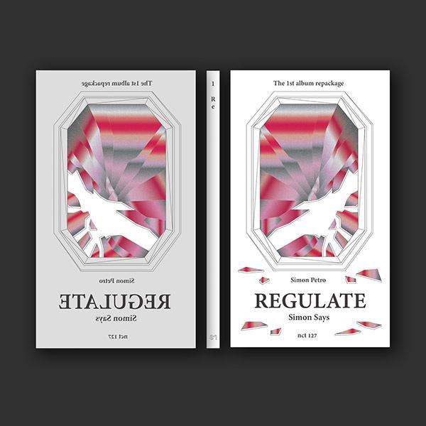 NCT 127 Regulate Album Re-design