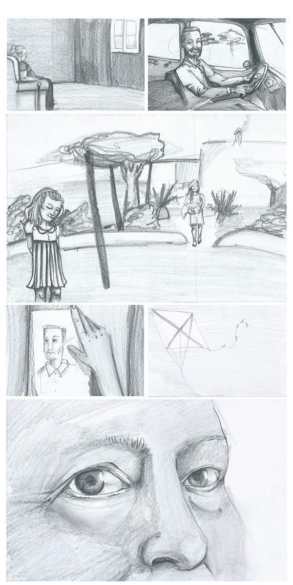 The Rope Storyboard On Student Show