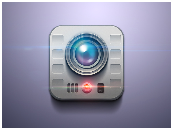Icon icons ios icons app apps book elephant ice on stick colorfull Gun video camera