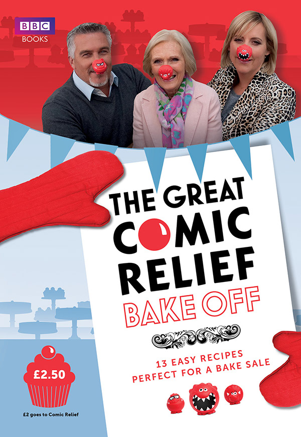 The Great Comic Relief Bake-Off on Behance