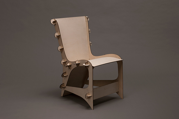 Beau Laser Cut Chair On Behance