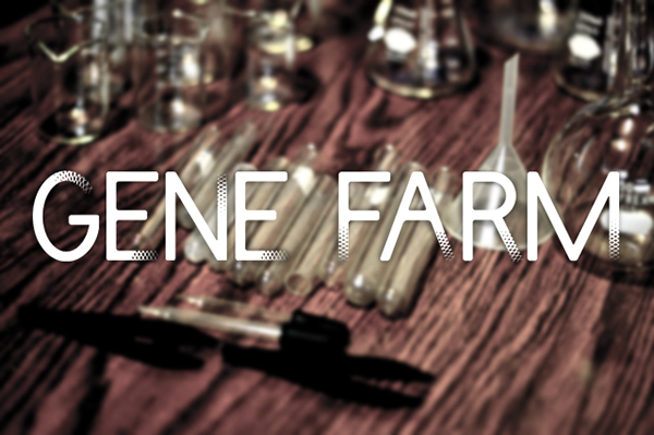 DNA FONT on Behance